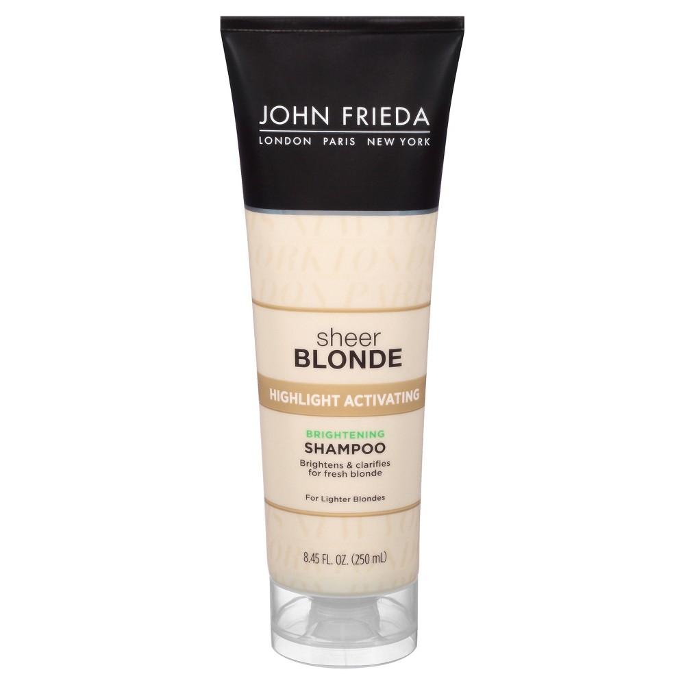 Image of John Frieda Sheer Blonde Highlight Activating Brightening Shampoo - 8.45 fl oz