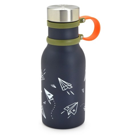 Stainless Steel 12oz Water Bottle - Cat & Jack™ Airplanes - image 1 of 1