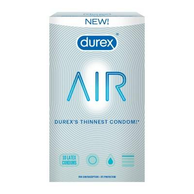 Durex Air Contraceptives - 10ct