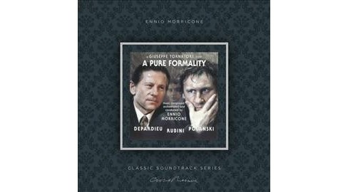 Ennio Morricone - Pure Formality (Ost) (Vinyl) - image 1 of 1