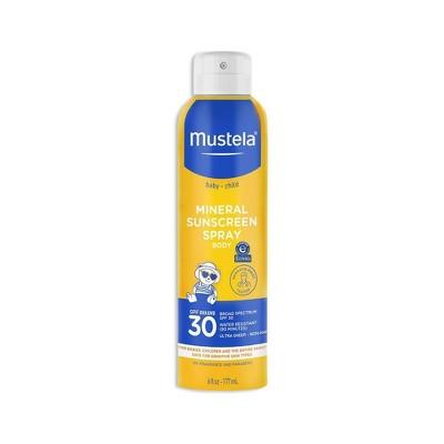 Mustela Mineral-Based Baby Sunscreen Spray - SPF 30 - 6 fl oz