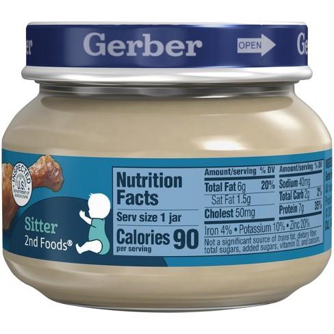 Gerber 2nd Foods Chicken Gravy Baby Food 25oz Target