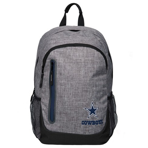 NFL Dallas Cowboys Forever Collectibles - Heather Gray Bold Color Backpack - image 1 of 3