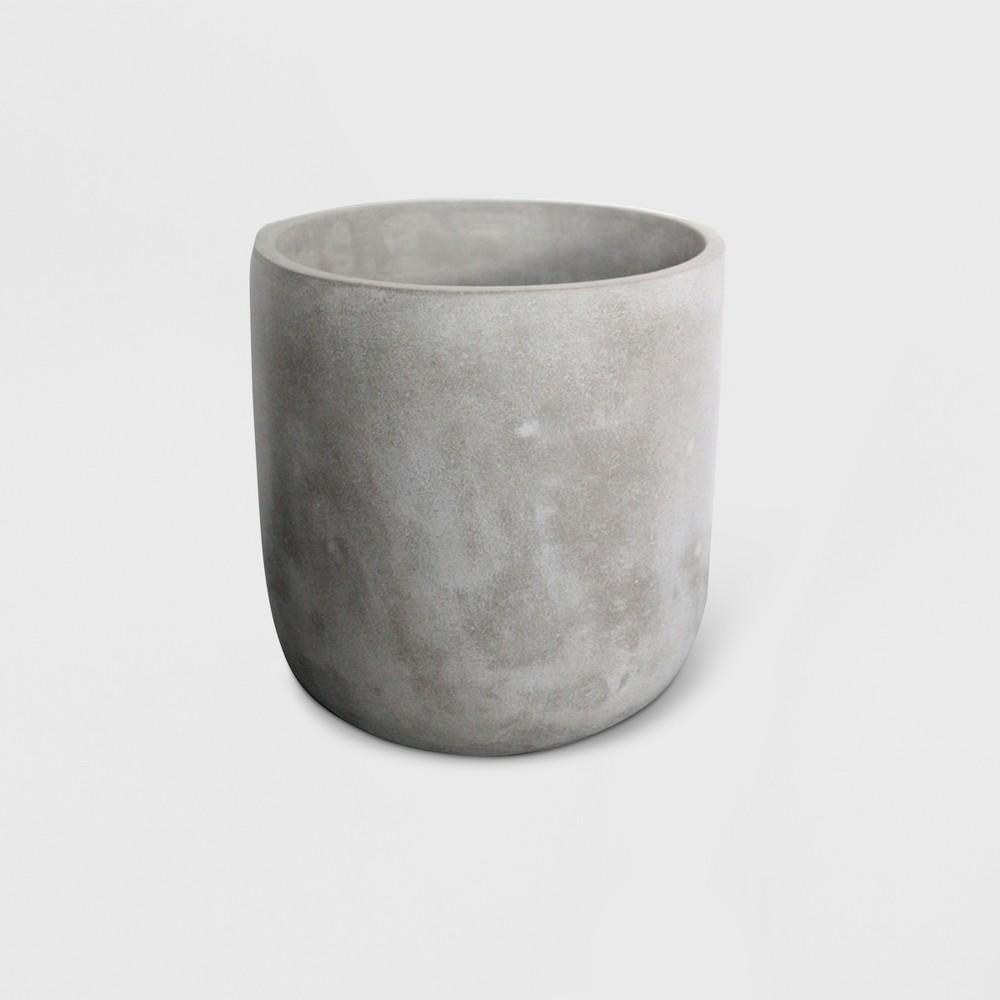 9 Concrete Planter Gray - Project 62