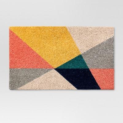 Geo Triangles Doormat 1'6 x2'6  - Project 62™