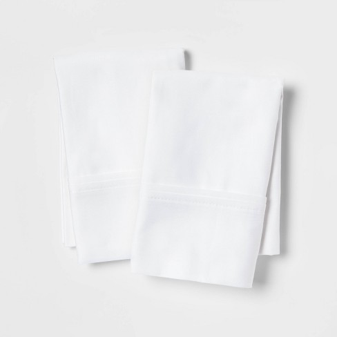 400 Thread Count Solid Performance Pillowcase Set - Threshold™ - image 1 of 4
