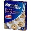 Reynolds Kitchens Cookie Baking Sheets - 25ct/1.33 sq ft - image 2 of 4