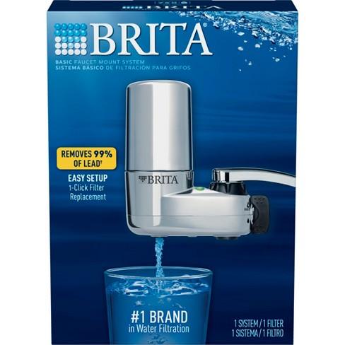 Brita Tap Water Faucet Filtration System BPA Free - Chrome