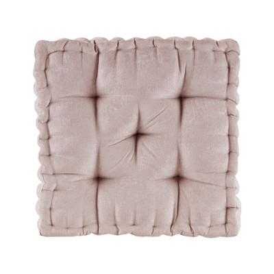 Blush Square Floor Pillow Cushion (20 x20 )