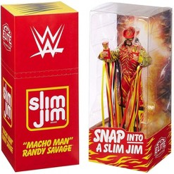 """WWE Wrestling Slim Jim Elite """"Macho Man"""" Randy Savage Action Figure"""