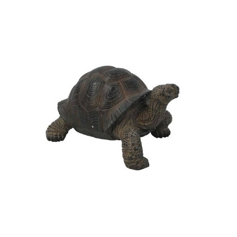 """4"""" Polyresin Small Tortoise Statue Gray/Brown - Hi-Line Gift - image 1 of 2"""