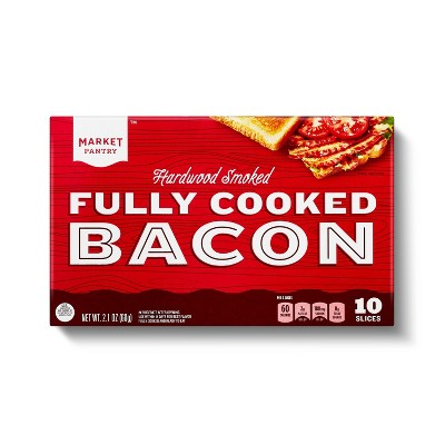 Fully Cooked Bacon - 2.1oz - Market Pantry™