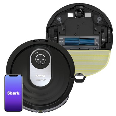 Shark AI VACMOP Wi-Fi Connected Robot Vacuum and Mop with LIDAR Navigation - RV2001WD