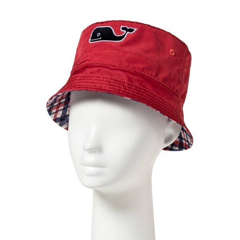 d4738679 Kids'/Toddlers' Reversible Bucket Hat - Red - Vineyard Vines® For Target :  Target