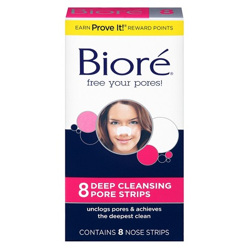 Biore The Original Deep Cleansing Nose Strips - 8ct - image 1 of 4