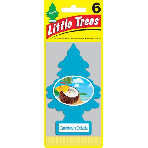 Air Fresheners Caribbean Colada 6pk- Little Trees - image 1 of 1