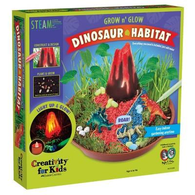 Grow and Glow Dinosaur Habitat - Creativity for Kids