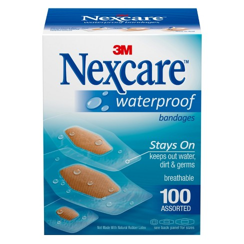 Nexcare™ Waterproof Assorted Bandages - 100ct - image 1 of 4