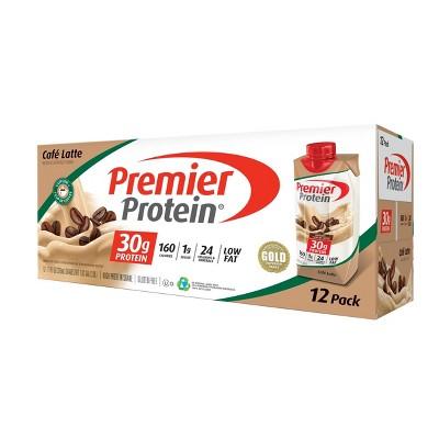 Premier Protein Shake - Cafe Latte - 12pk/11oz