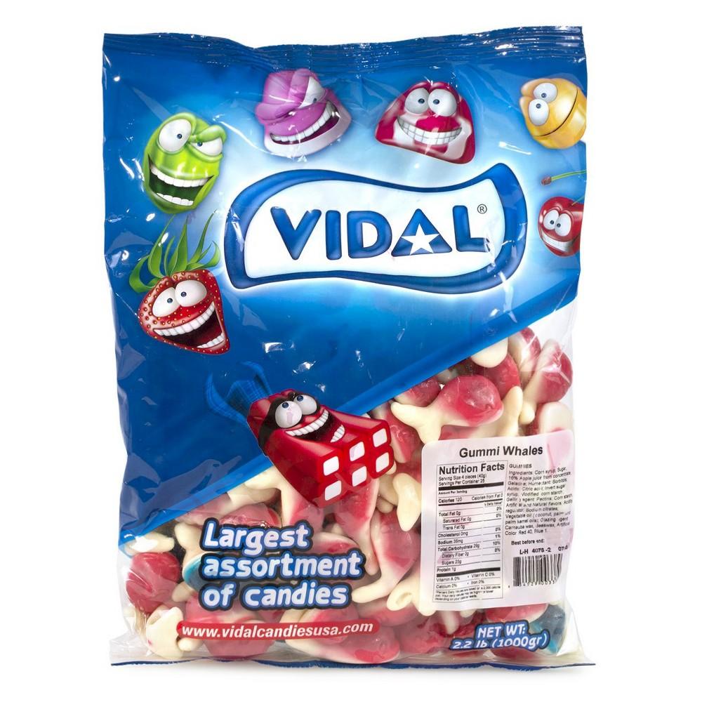 Vidal Gummi Whales - 2.2lbs