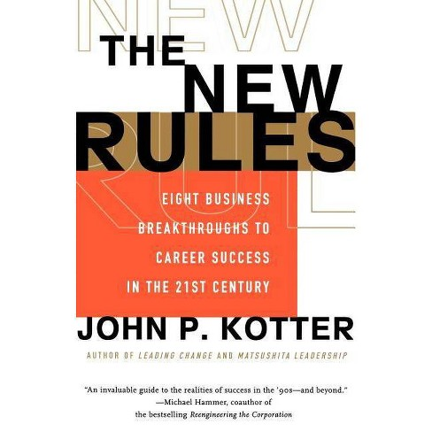 The New Rules - by  John P Kotter (Paperback) - image 1 of 1