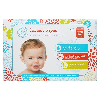 Honest Company Baby Wipes - 576 ct