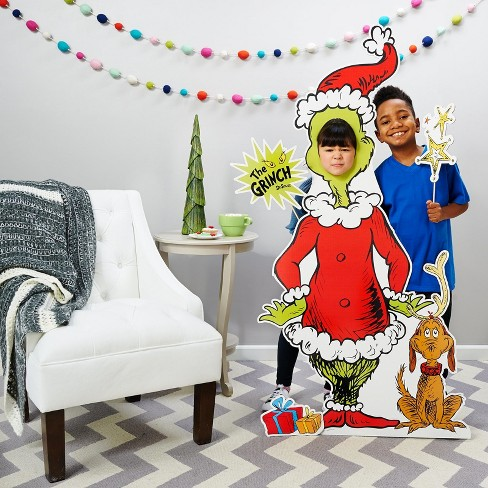 The Grinch Christmas Party.Grinch Christmas Party Standee