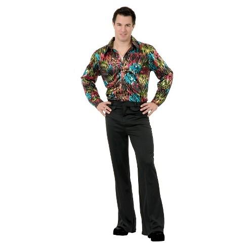 Mens Disco Pants Costume Black Target