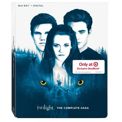 Twilight The Complete Saga (Target Exclusive) (Blu-ray + Digital)
