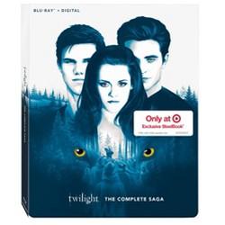 Twilight The Complete Saga (Target Exclusive) (Blu-ray + Digital)