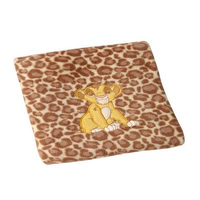 Disney Lion King Urban Jungle Leopard Print Super Soft Fleece Baby Blanket