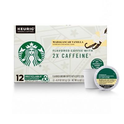 Starbucks KCup Cafe Vanilla Medium Roast 12ct - 4.4oz