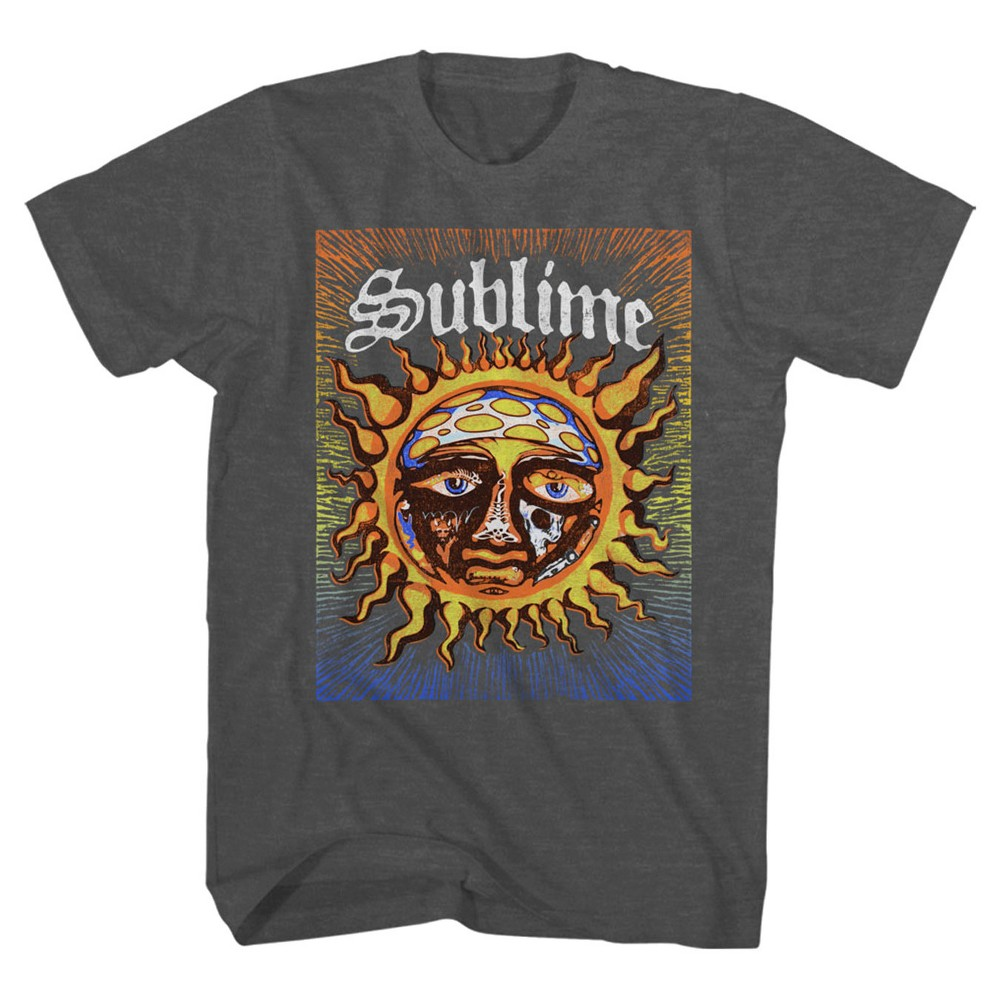 Men's Sublime 40 oz of Freedom T-Shirt - Charcoal M, Gray