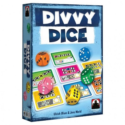 Divvy Dice Board Game
