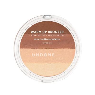 UNDONE BEAUTY Warm Up 4-in-1 Radiance Bronzer - 0.24oz