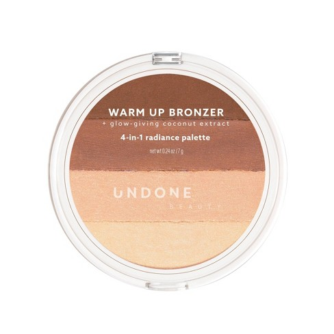UNDONE BEAUTY Warm Up 4-in-1 Radiance Bronzer - 0.24oz - image 1 of 4