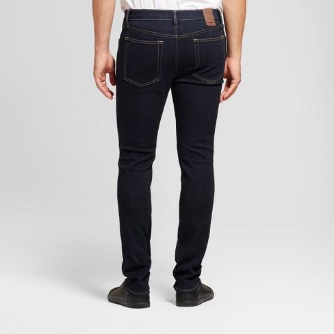 Men s Skinny Fit Jeans - Goodfellow   Co™ Dark Rinse Wash   Target c53b2a384