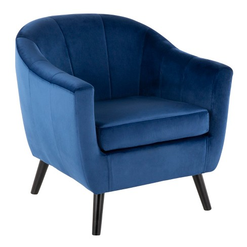 Rockwell Contemporary Velvet Accent Chair - LumiSource - image 1 of 8