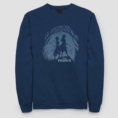 Women's Disney Frozen 2 Crewneck Sweatshirt (Juniors') - Navy