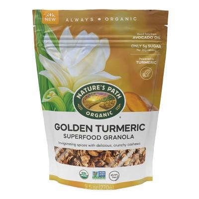 Nature's Path Golden Turmeric Superfood Granola - 9.5oz