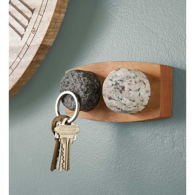 VivaTerra Granite Stone Magnetic Key Holder