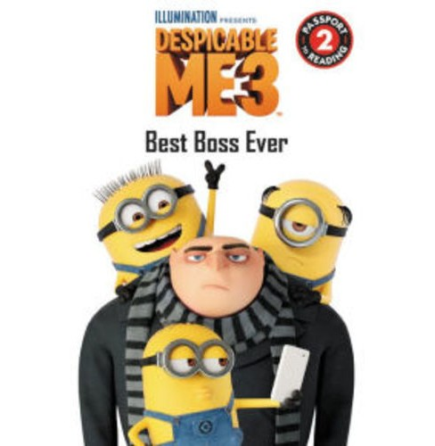 Despicable Me 3: Best Boss Ever (Paperback) (Trey King) - image 1 of 1