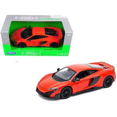 McLaren 675LT Coupe Red 1/24-1/27 Diecast Model Car by Welly