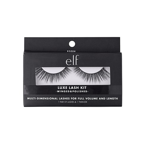 40714768b98 E.l.f. Winged & Polished Luxe Lash Kit : Target
