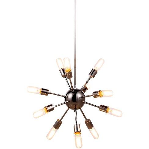 "Elegant Lighting 1134D21 Cork 21"" Wide 12 Light Chandelier - image 1 of 1"