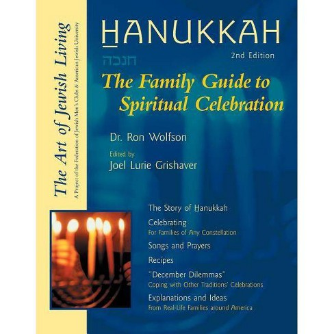 Hanukkah - (Art of Jewish Living) 2 Edition by  Ron Wolfson (Paperback) - image 1 of 1