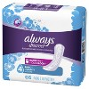Always Discreet Incontinence and Postpartum Pads - Moderate Absorbency - Regular Length - 66ct - image 2 of 4