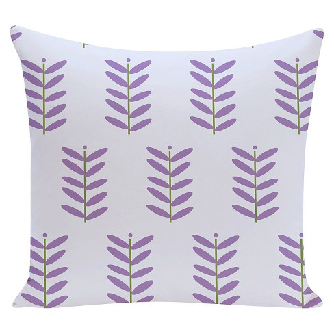 Petal Pusher Floral Print Throw Pillow - E by Design - image 1 of 1