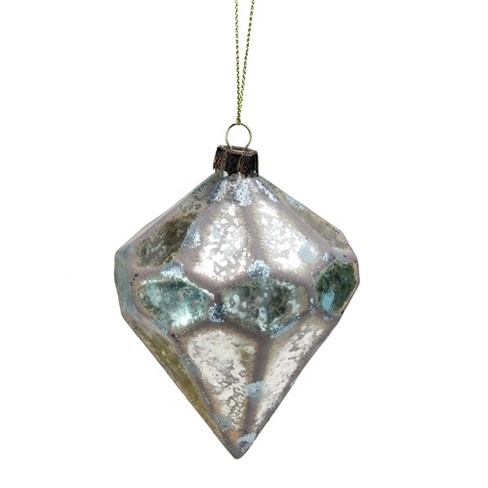 Kurt S Adler 4 Weathered Mercury Glass Final Christmas Ornament