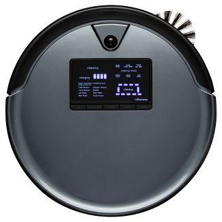 bObsweep PetHair Plus Robotic Vacuum Cleaner and Mop - Gray